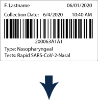 SICkit barcoded label